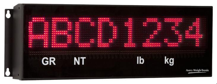 XR8M Alphanumeric Remote Display