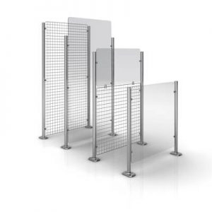 Partitioning Entrance & Exit Barriers