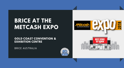 Brice at the Metcash Expo