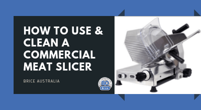 How to Use and Clean a Commercial Meat Slicer