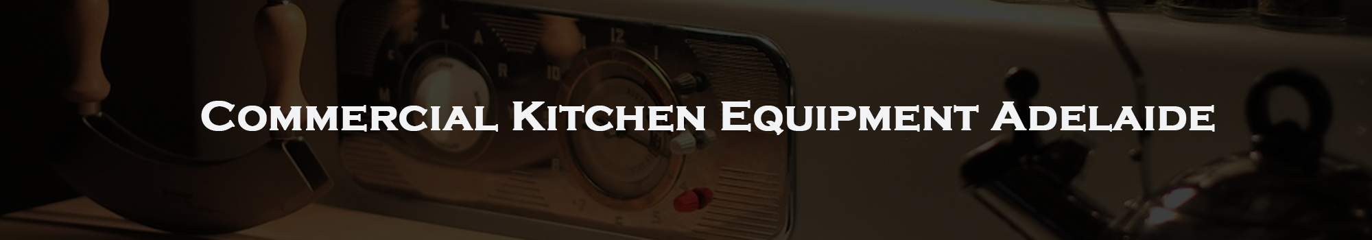 Commercial Kitchen Equipment Adelaide