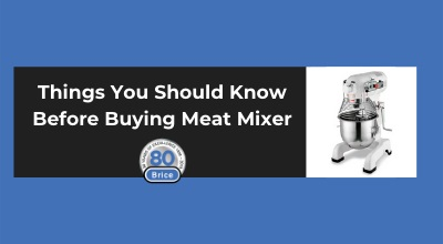 Things You Should Know Before Buying Meat Mixers
